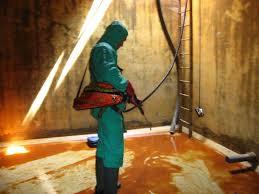 Quy trình vệ sinh bể nước ngầm