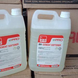 Hoá Chất Tẩy Rửa Xi Măng Cement Softener 201 can 5L